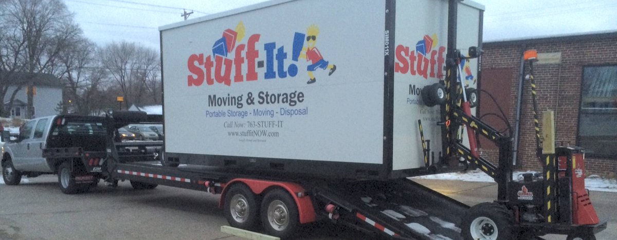 Stuff-It Moving & Storage is a locally owned and operated portable storage container and moving company offering high-quality, friendly, and competitively priced moving and storage services. https://stuffitnow.com, 763-788-3348